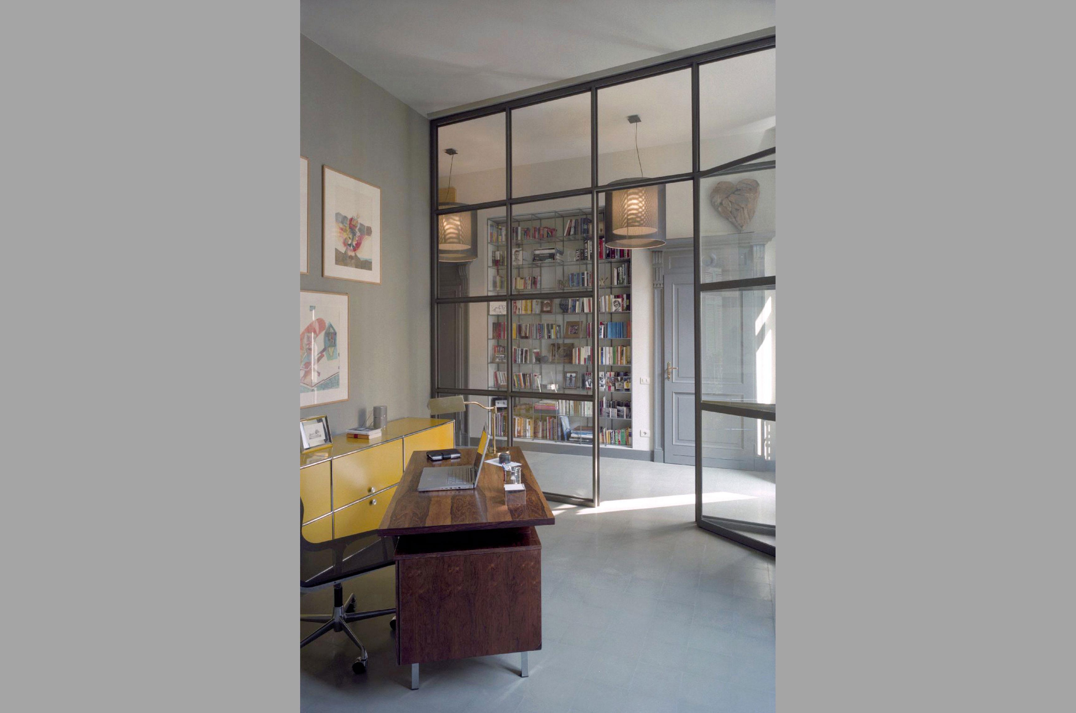Ristrutturazione completa appartamento, mq. 150, Milano, via Saffi  APEX Costruzioni
